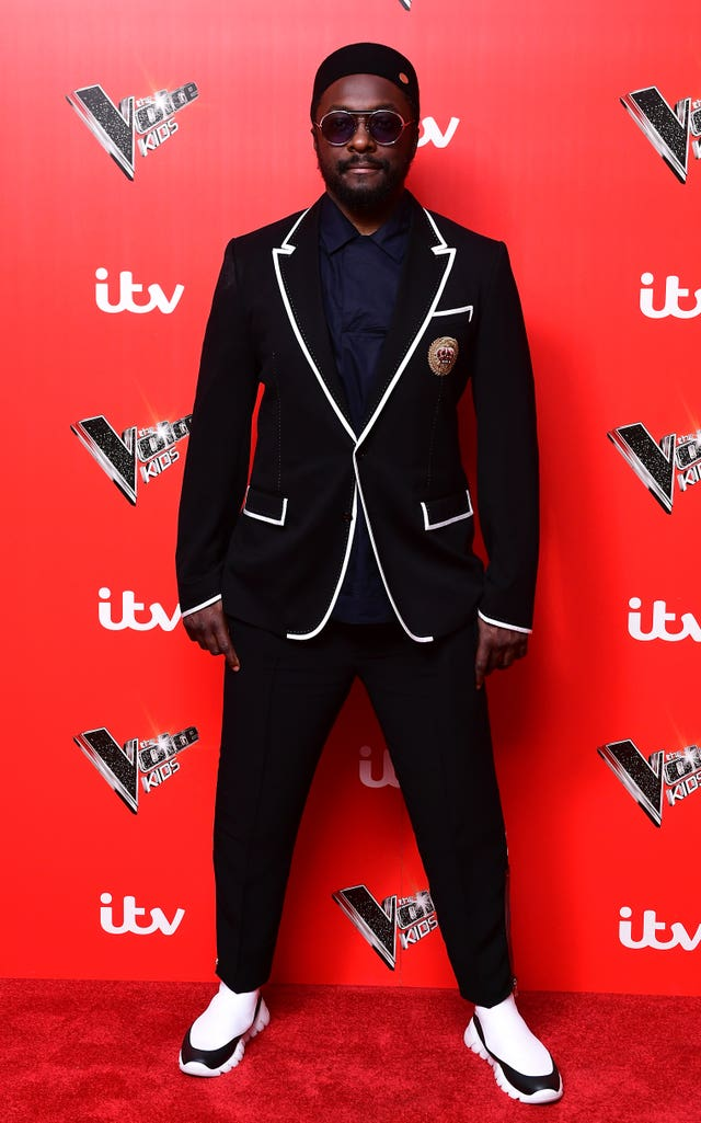 will.i.am at the The Voice Kids Launch