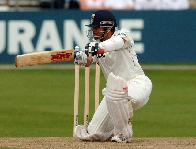 Sachin Tendulkar sits top of the pile by some distance (Sean Dempsey/PA)