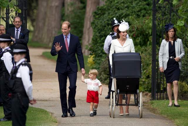 Princess Charlotte's christening