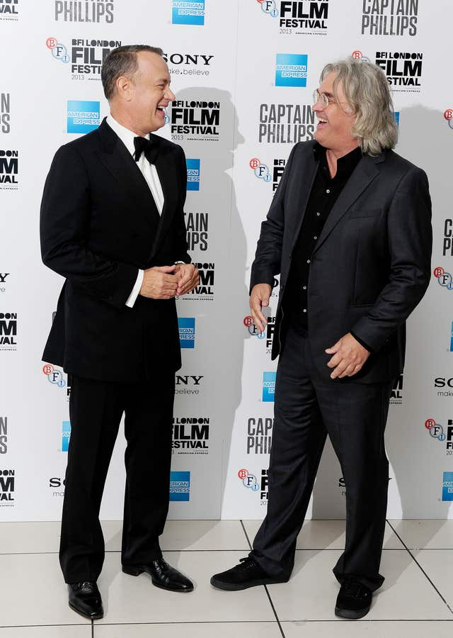 Tom Hanks and Paul Greengrass