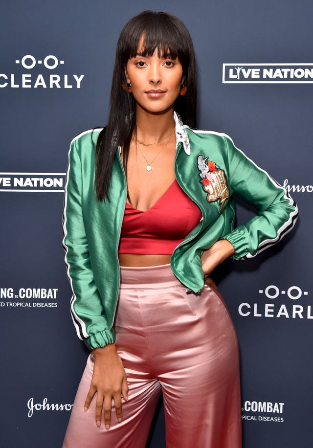 Host Maya Jama said she hoped to use social media to encourage her young fans to back good causes (Matt Crossick/PA)