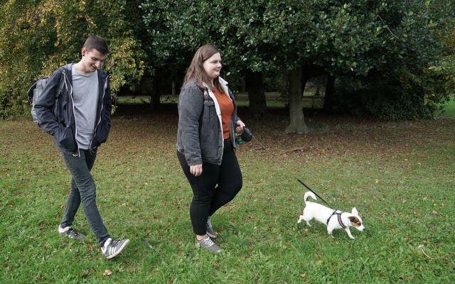 Jack Russell helps students' mental health