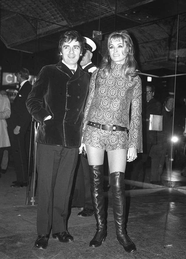 Dudley Moore and Suzy Kendall separate