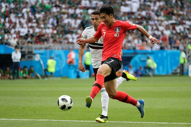 Mexico make it two wins from two as they down South Korea in Rostov