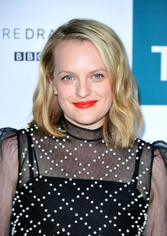 Elisabeth Moss won with The Handmaid's Tale