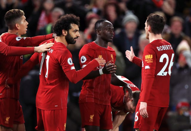 Liverpool clinched the title with victory over Crystal Palace