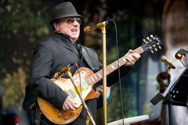 Van Morrison's 70th birthday gig