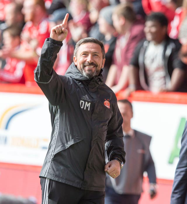 Aberdeen v Rangers – Ladbrokes Scottish Premiership – Pittodrie Stadium