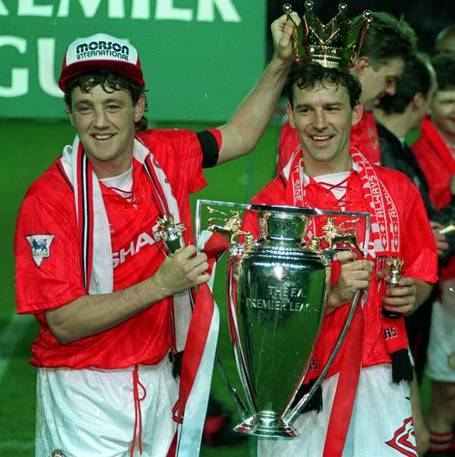 Bryan Robson was a Premier League winner with Manchester United