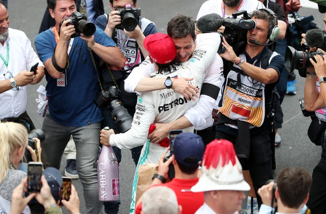 Lewis Hamilton has stated that his next move will depend on the future of Mercedes team principal Toto Wolff.