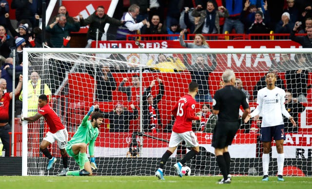 Manchester United v Liverpool – Premier League – Old Trafford