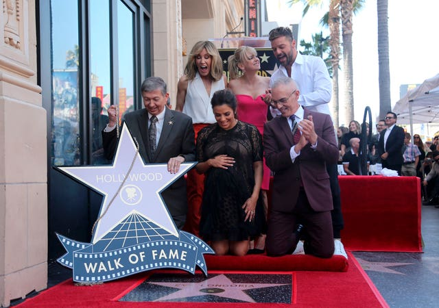 Eva Longoria Honored with a Star on the Hollywood Walk of Fame