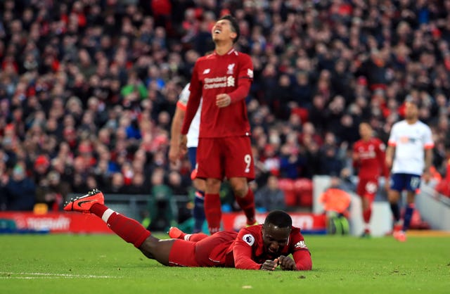 Naby Keita had an indifferent start to his time in England