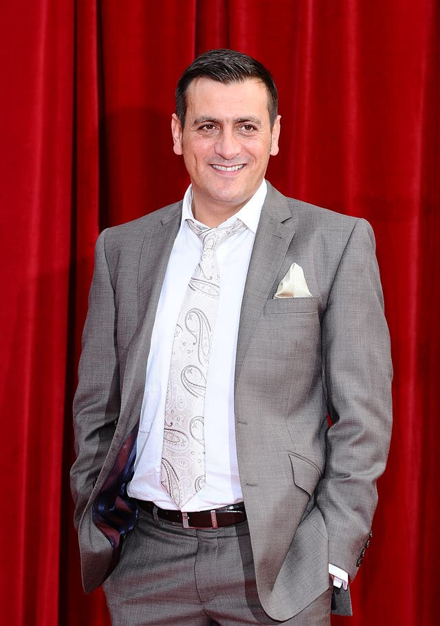 Chris Gascoyne on the red carpet
