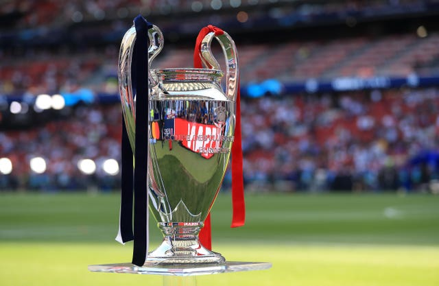 The Champions League has been halted during the last-16
