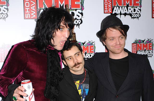 Shockwaves NME Awards 2009 – Press Room – London