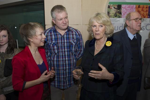 Camilla meets stars of The Archers