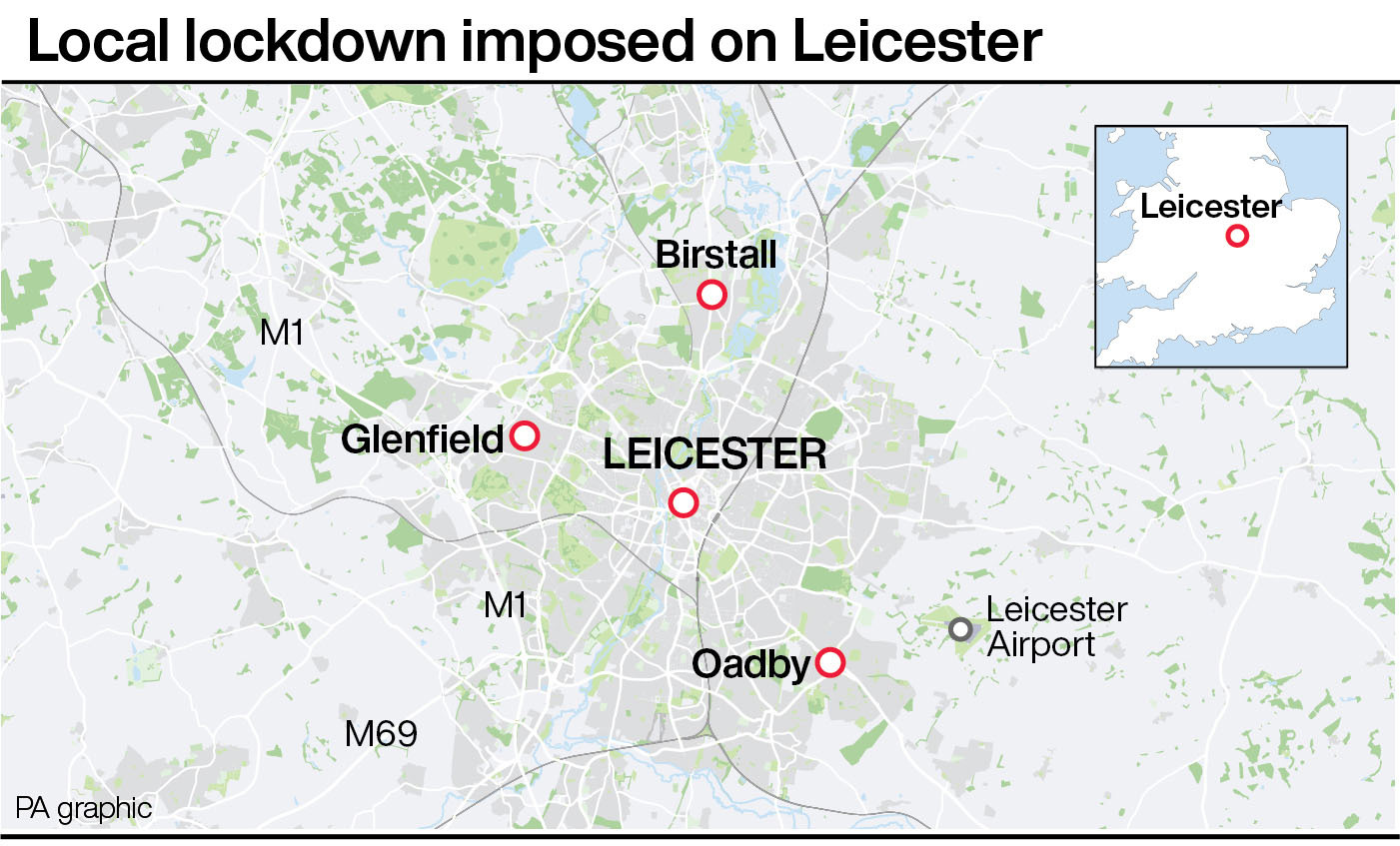 United Kingdom  govt to change law to enforce Leicester lockdown