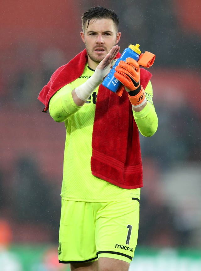 Jack Butland is wanted by Liverpool and Arsenal (Adam Davy/PA)