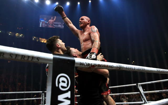 George Groves won on a unanimous points decision