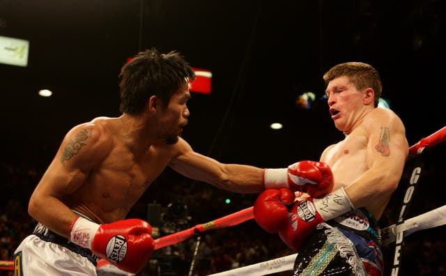 Manny Pacquiao beat Ricky Hatton in Las Vegas nine years ago