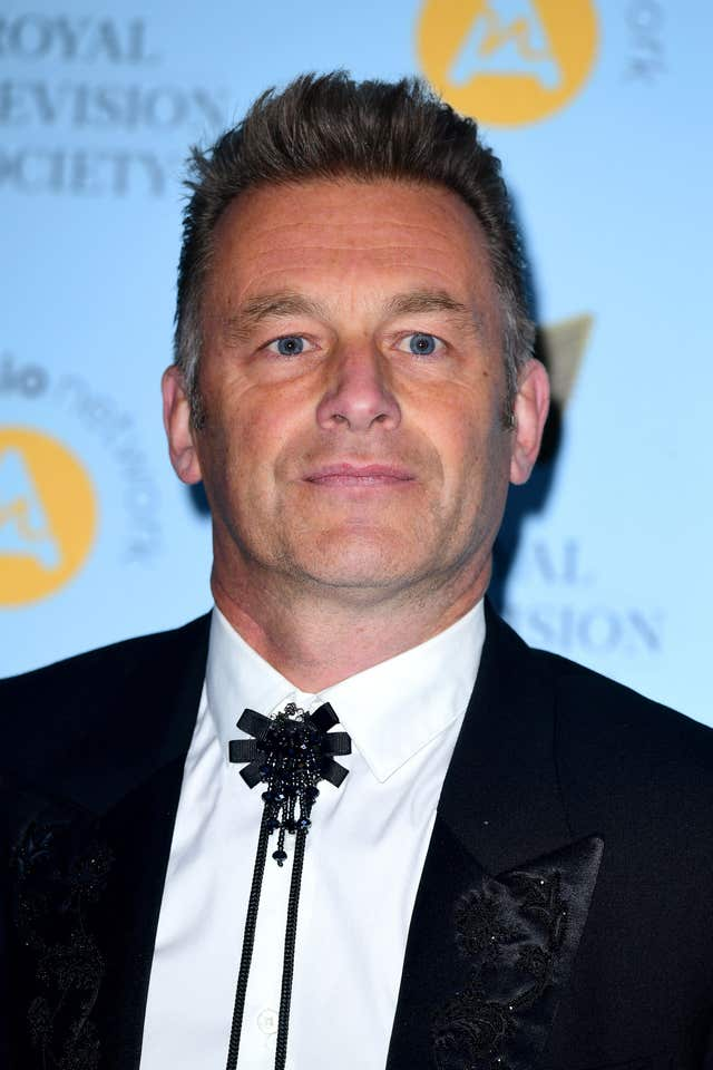 Chris Packham is in danger of being totally deaf following a diving accident (Ian West/PA)