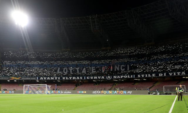 Napoli v Arsenal – UEFA Europa League – Quarter Final – Second Leg – San Paolo Stadium
