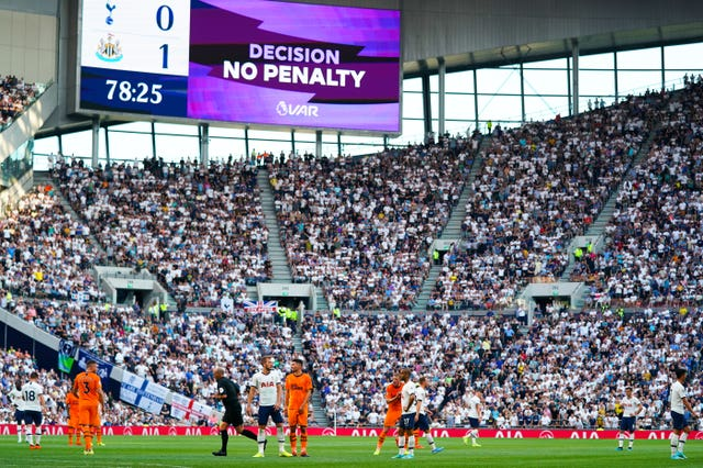 Tottenham Hotspur v Newcastle United – Premier League – Tottenham Hotspur Stadium