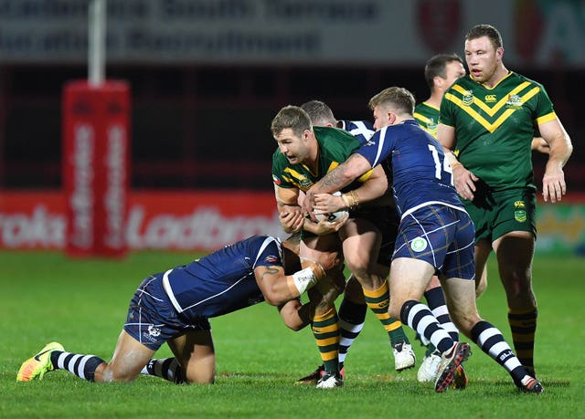 Australia v Scotland – Ladbrokes Four Nations – KC Lightstream Stadium