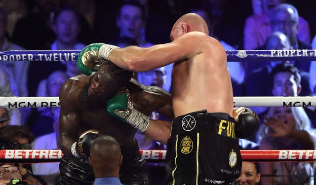 Tyson Fury got the better of Deontay Wilder