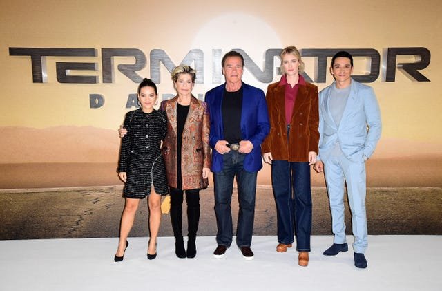Terminator: Dark Fate photocall – London
