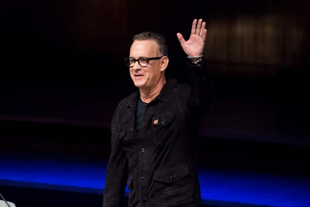 Tom Hanks (Ben Stevens/PA)