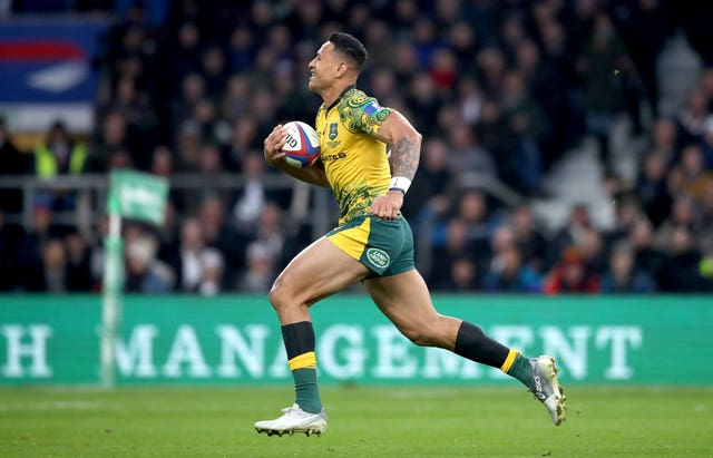 Israel Folau faces missing the World Cup (Adam Davy/PA)