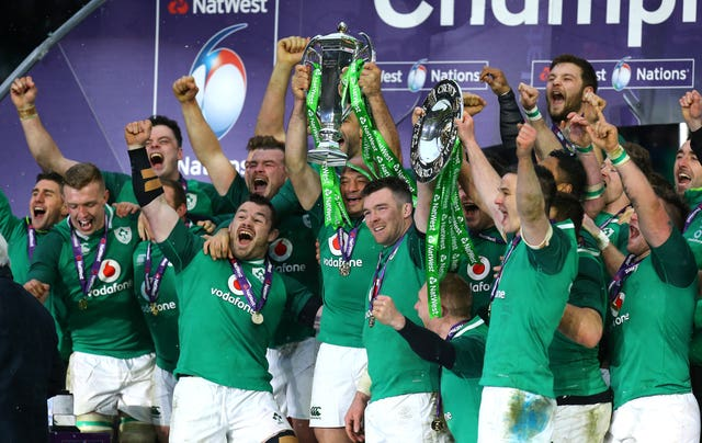 Ireland win the Grand Slam at Twickenham in 2018