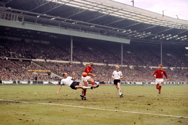 England v West Germany – 1966 World Cup Final – Wembley Stadium