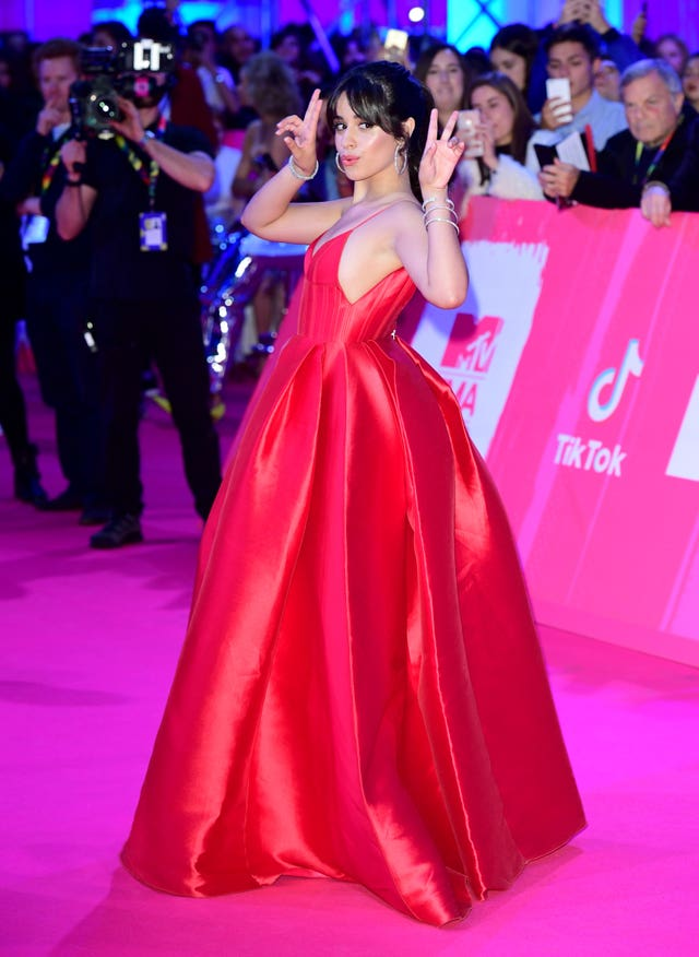 Camila Cabello at the MTV Europe Music Awards 2018 – Arrivals – Bilbao