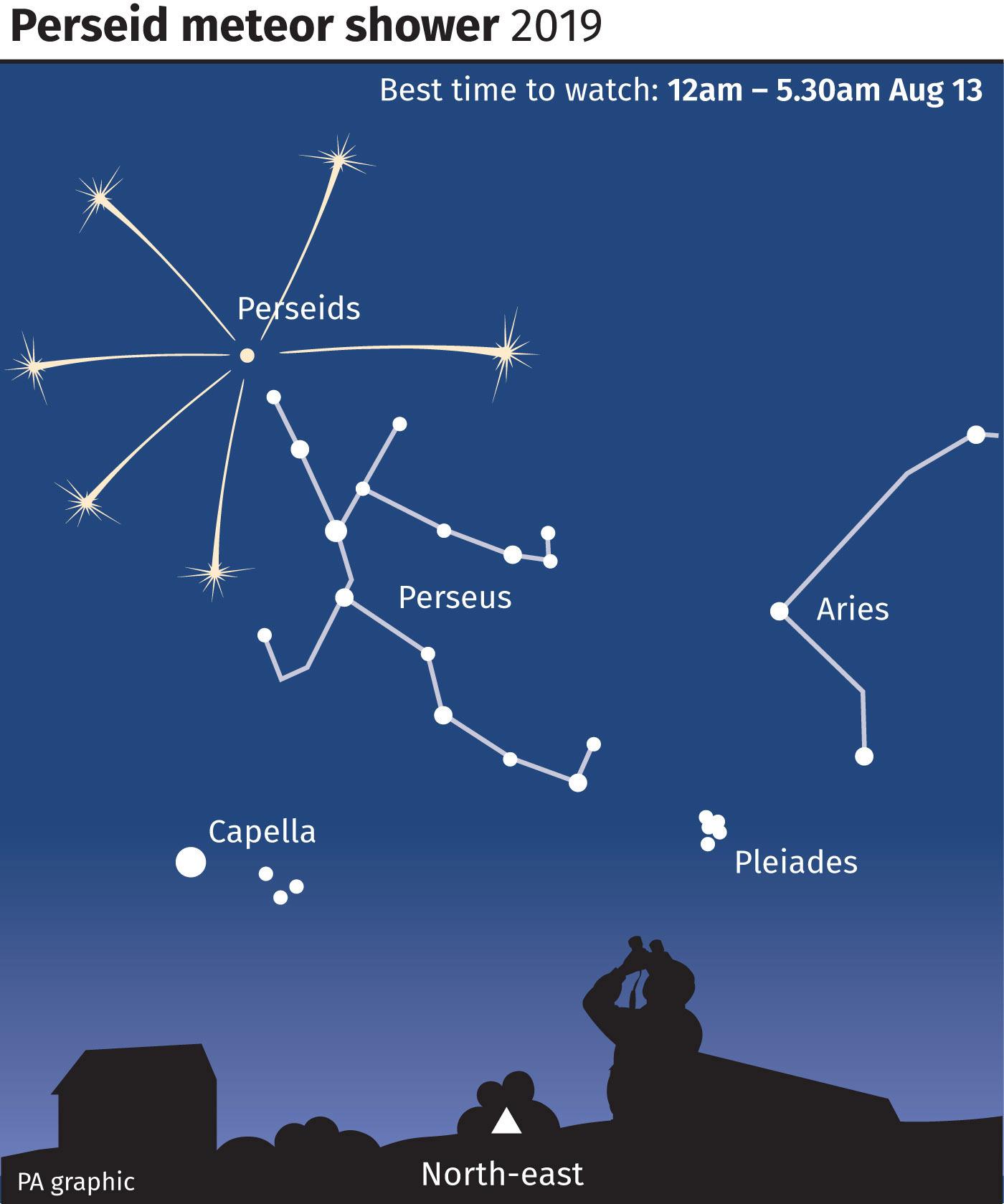 Perseid meteor shower to peak this week