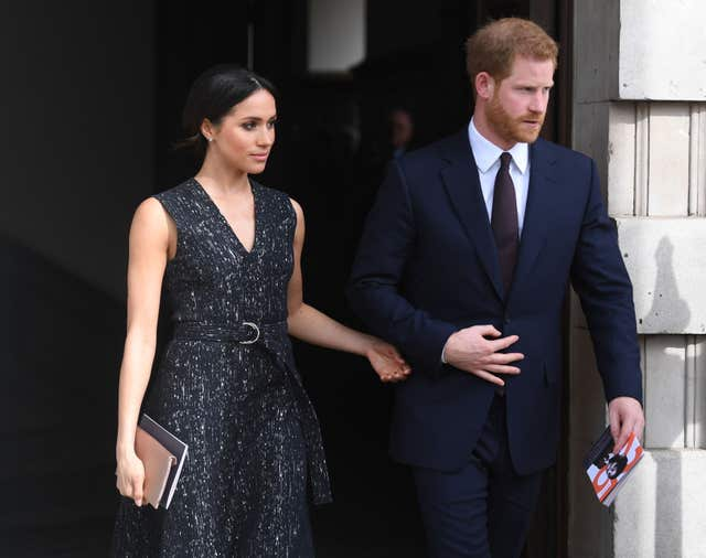 Prince Harry and Meghan Markle are due to marry on May 19 (Victoria Jones/PA)