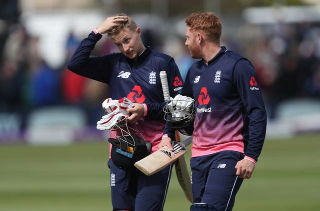 Bairstow (right) says he and Root instantly clicked when batting together