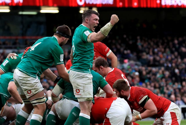 Ireland made it two wins from two by edging Wales 24-14 in Dublin
