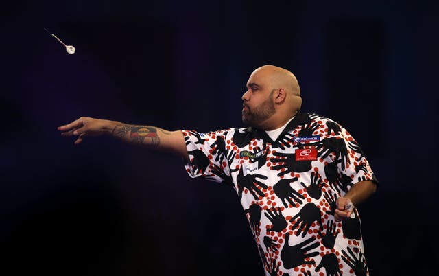 Australian darts player Kyle Anderson has been diagnosed with Covid-19