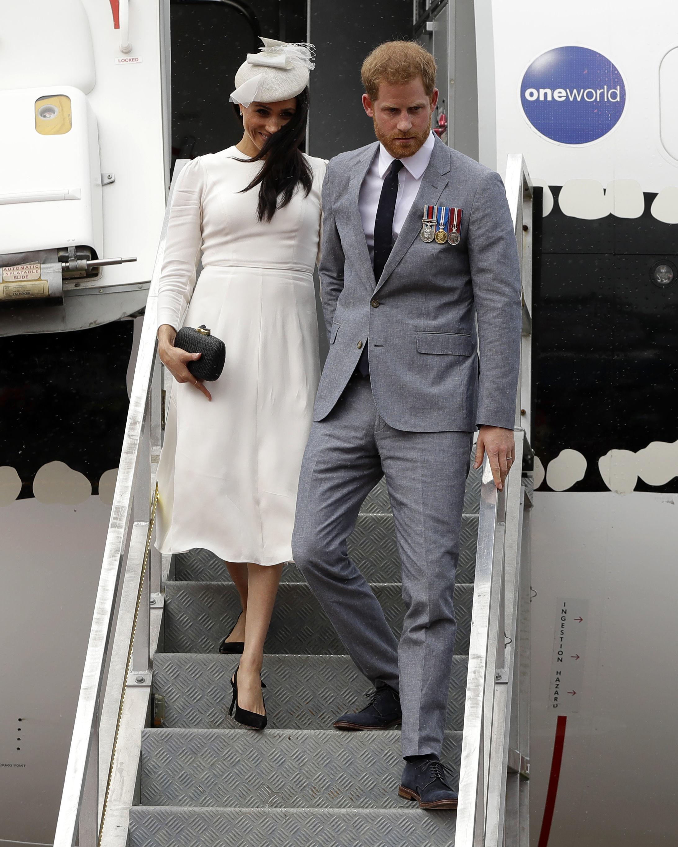 Harry and Meghan head off to Fiji, Tonga