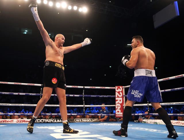 Tyson Fury beats Sefer Seferi with ease (Nick Potts/PA Images)