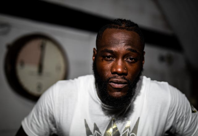 Deontay Wilder File Photo
