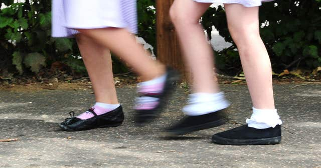 Children are current weighed when they start primary school as part of a national programme (Ian West/ PA)