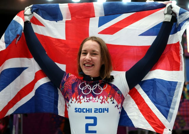Lizzy Yarnold is seeking to defend the gold medal she won at the Sochi 2014 Olympics