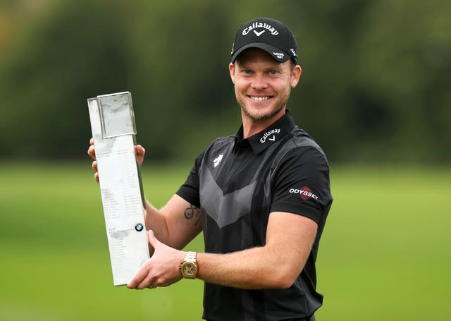 Another man with a trophy to show off was Danny Willett, who overcame Jon Rahm in a final-day battle to win the BMW PGA Championship at Wentworth - his seventh European Tour title