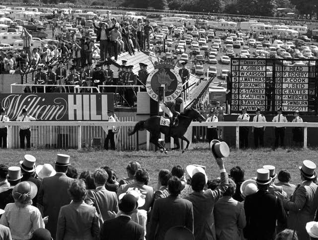 The incomparable Shergar was the first of the Aga Khan's Derby winners