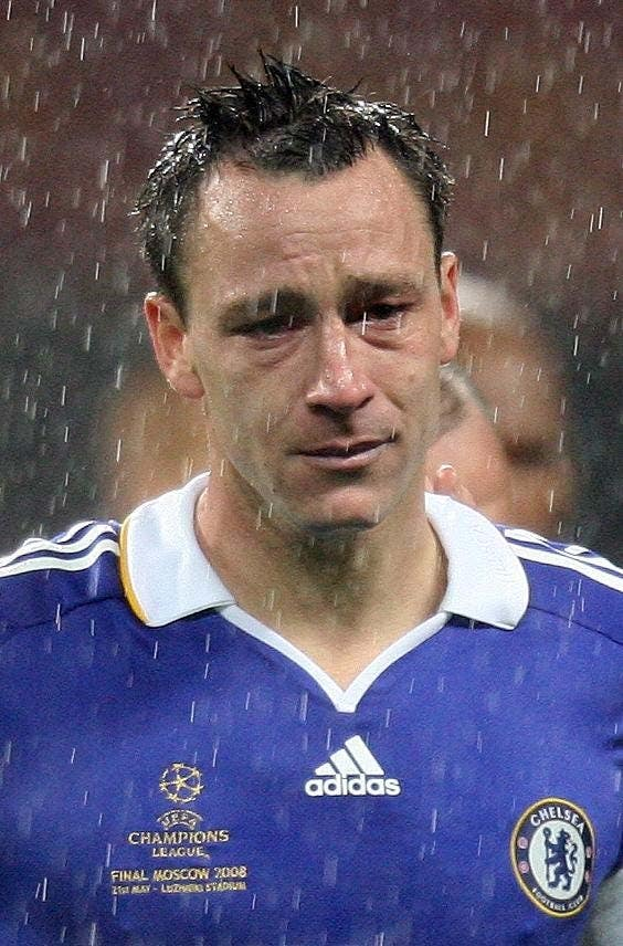 John Terry's miss in Moscow helped Manchester United lift the trophy