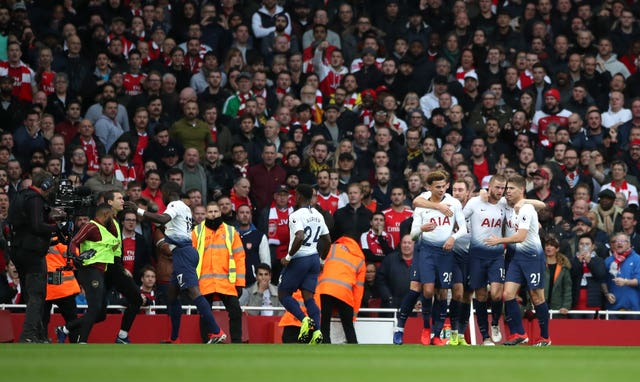 Emery tells Arsenal to continue on the winning trail after Tottenham are toppled